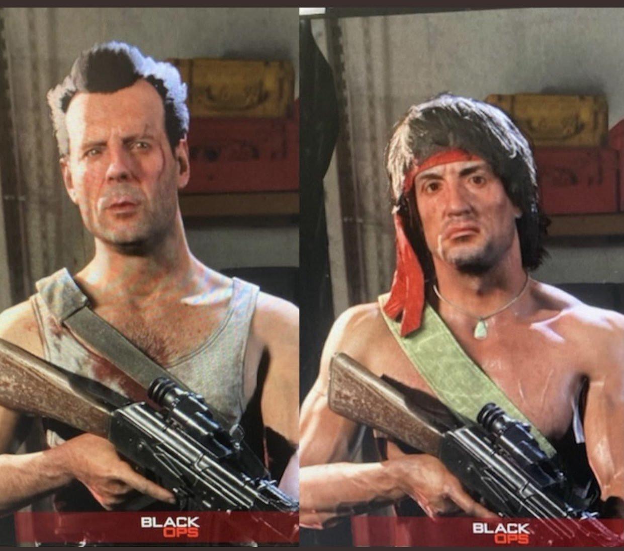 《决胜时刻:战区》新角色洩露 史泰龙和布鲁斯威利斯经典形象加入
