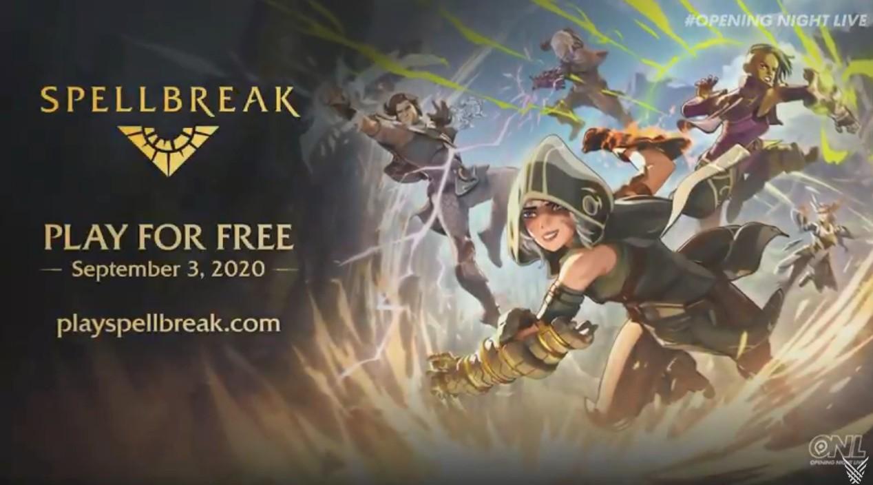 《Spellbreak》魔法吃鸡9月3日上线,用斧牛加速畅玩!